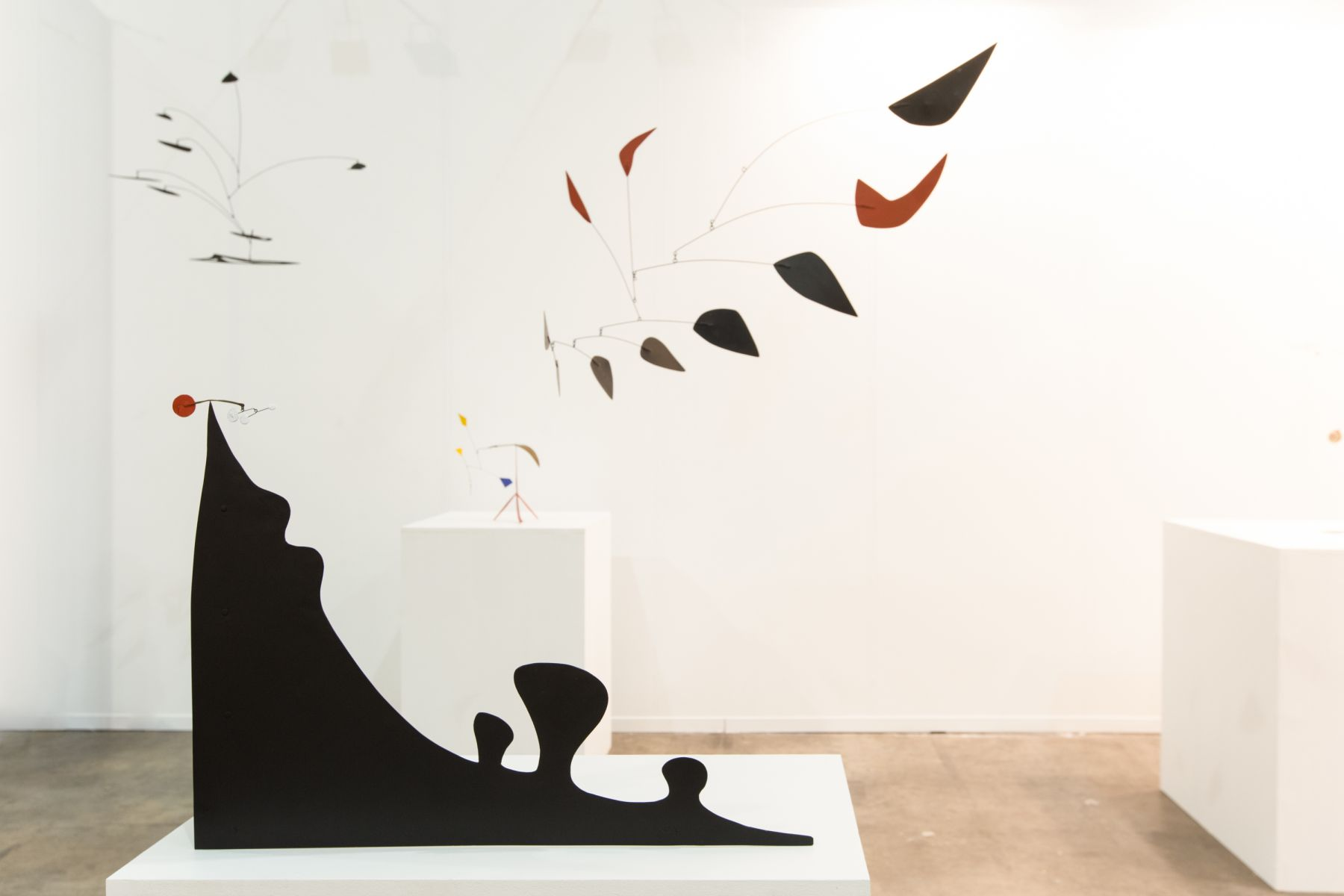 Installation view of Alexander Calder at Zona Maco, Mexico City, 2016