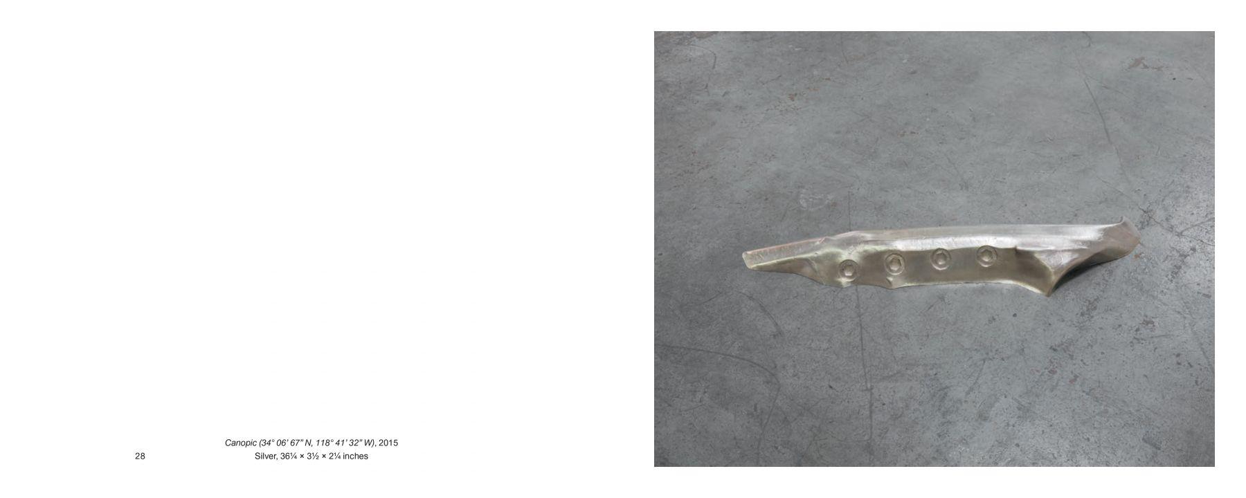 Interior image of Dan Colen: Viscera, published by Venus Over Los Angeles, Los Angeles, 2016