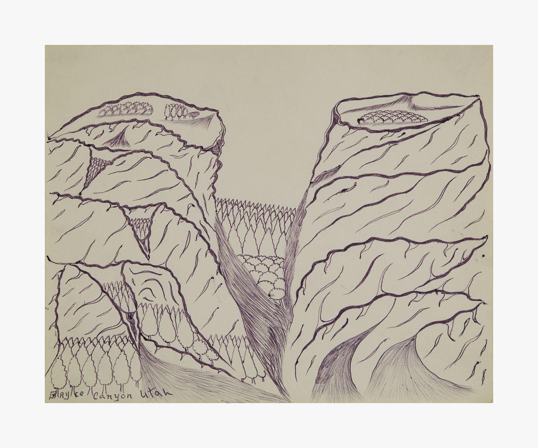 Joseph Elmer Yoakum Argyle Canyon, Utah, n.d.
