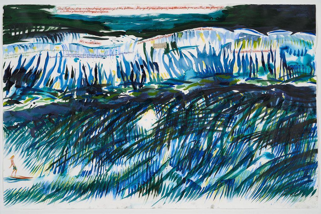 Raymond Pettibon,No Title (This Left Was),2012