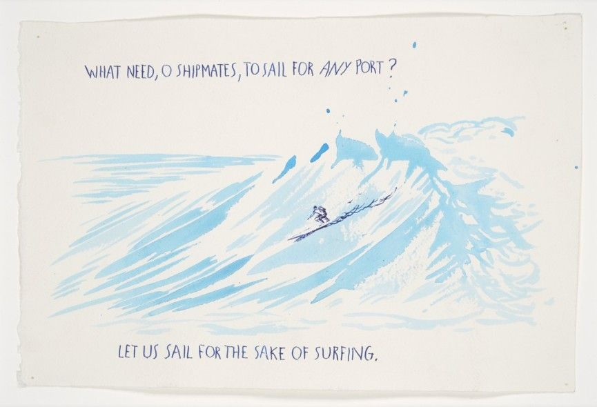 Pettibon – What need o, 1999