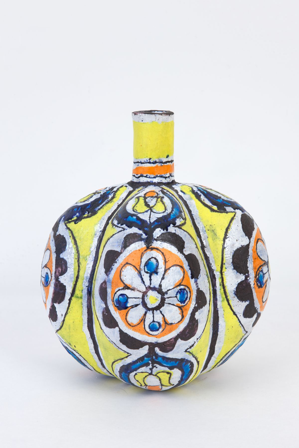 Elisabeth Kley Yellow Lobed Bottle, 2012