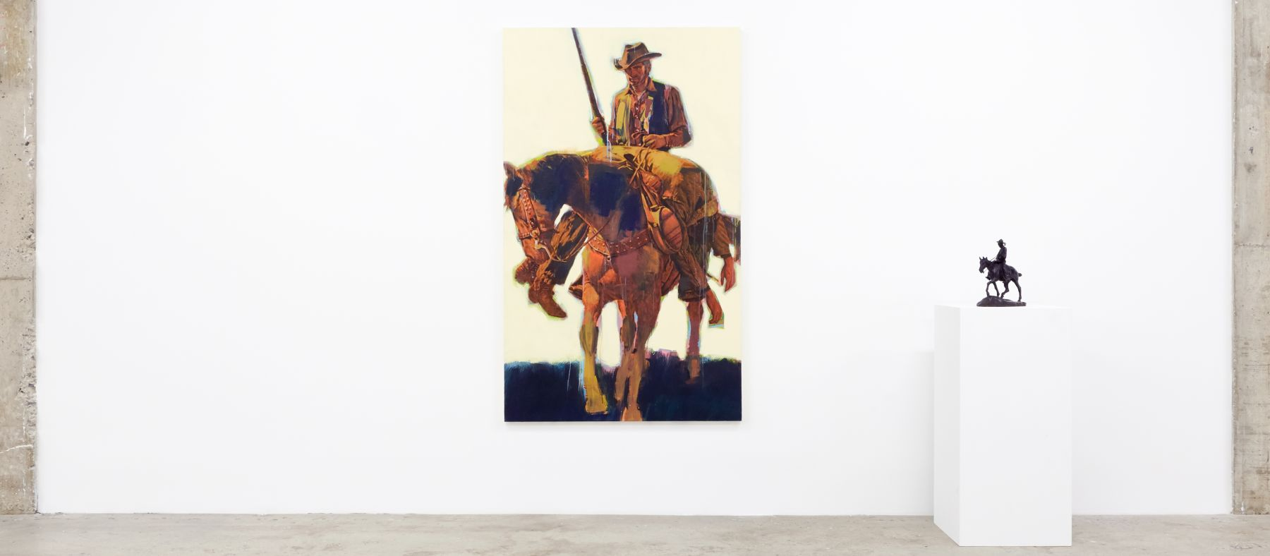 #RAWHIDE Richard Prince Untitled (Cowboy) C.M. Russel Will Rogers