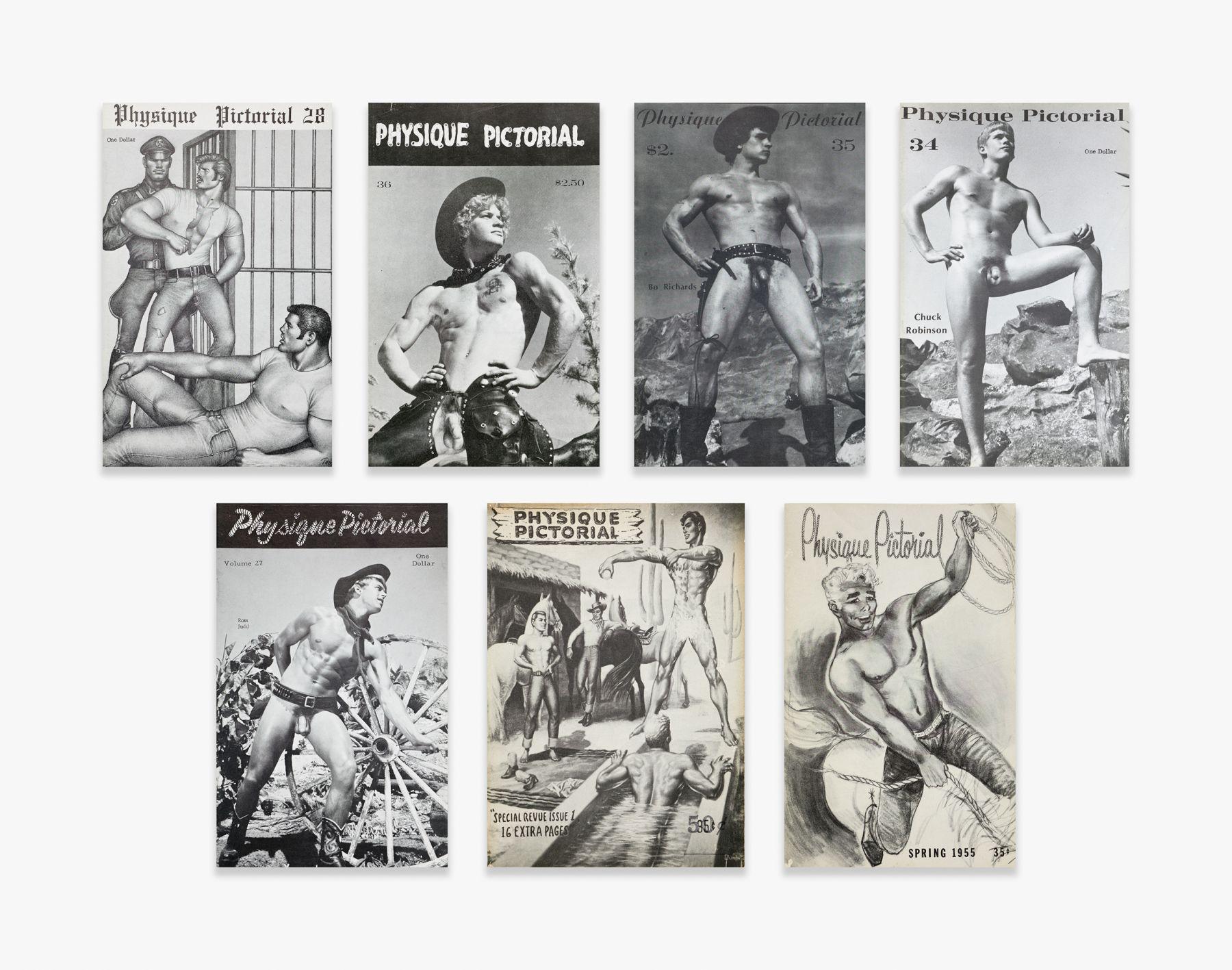 Bob Mizer Physique Pictorial Magazines