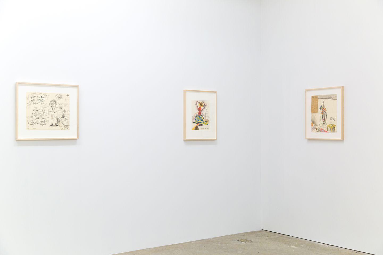 Installation view of H.C. Westermann, New York, Venus Over Manhattan, 2019