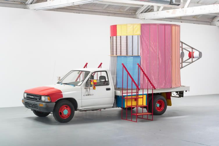 Peter Shire Mr. Truck Goes to Coffee, or This One's for You, 2016