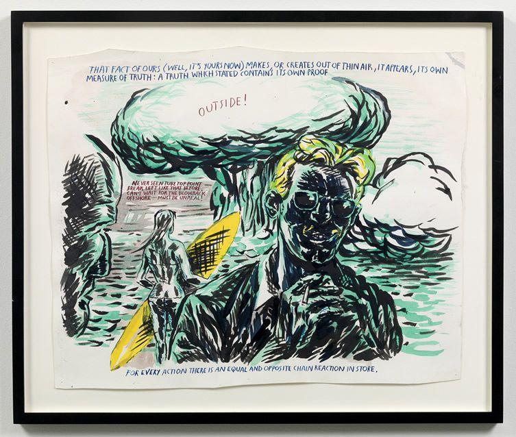 Raymond Pettibon Untitled (That fact of…), 2003