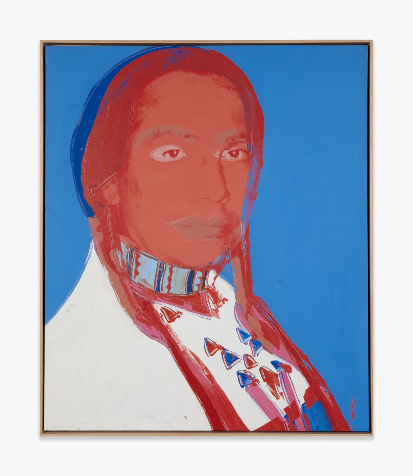Andy Warhol The American Indian (Russell Means)