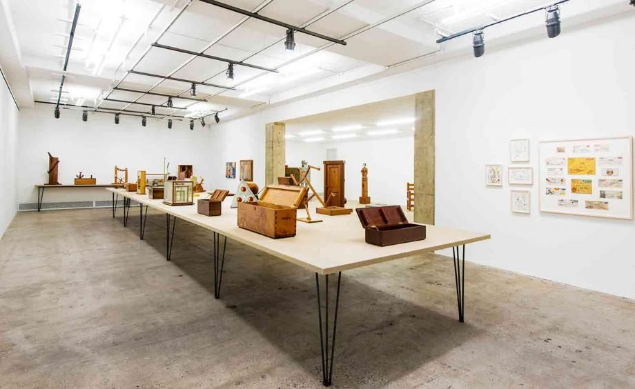 'See America First' is a major presentation of H.C. Westermann's work. The lastretrospective of the artist was organisedat the Whitney Museum in New York in1978