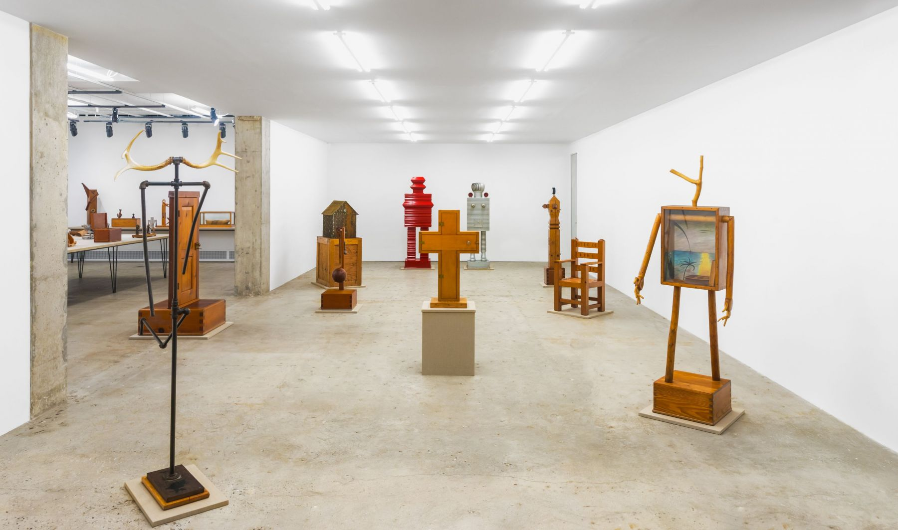 """Installation view of """"See America First"""""""