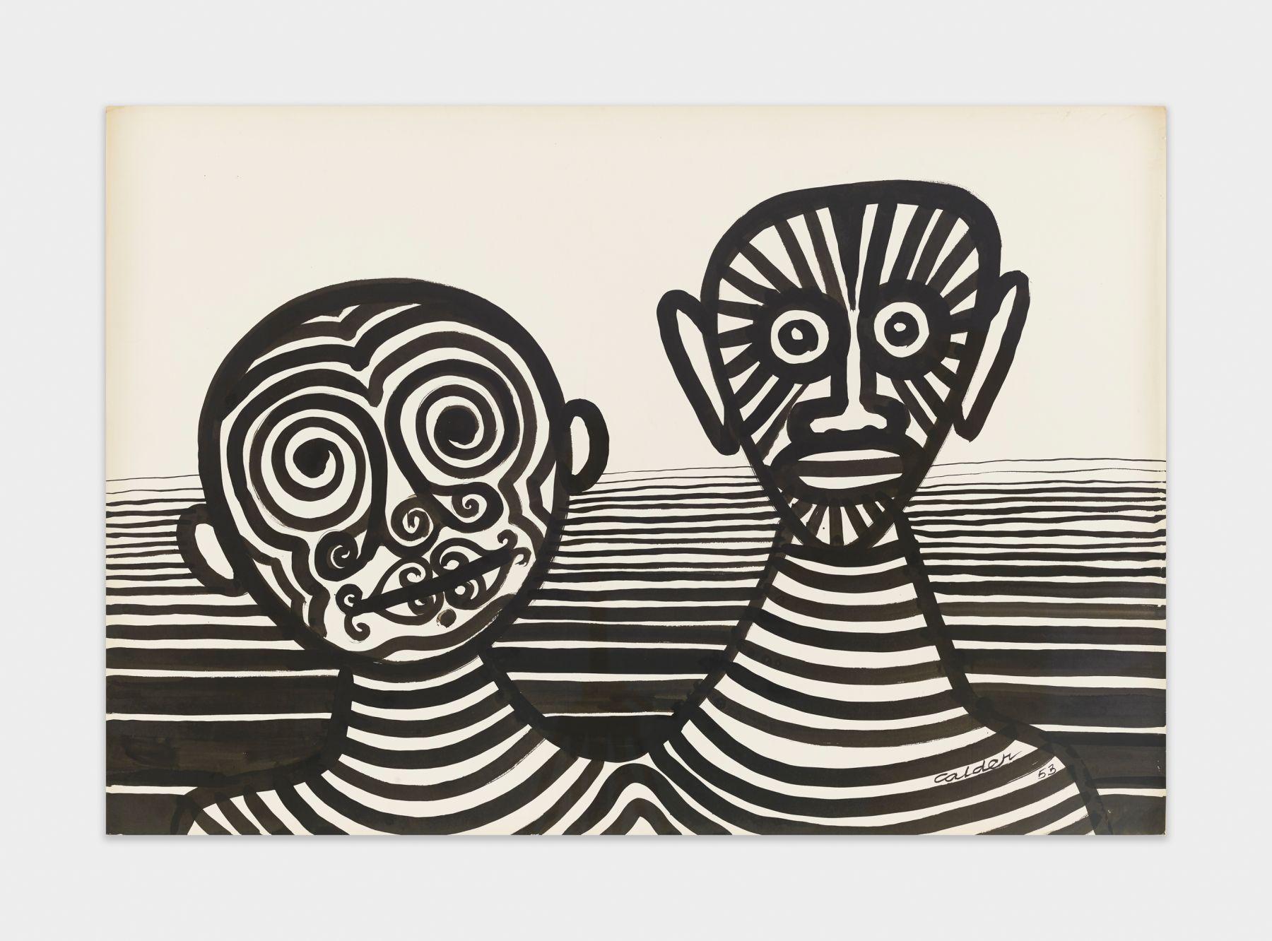 Alexander Calder Untitled, 1953