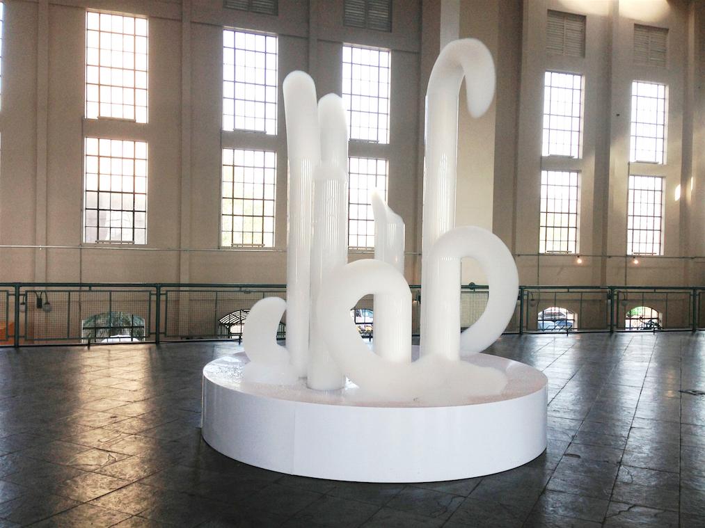 Madrid, Cloud-Gates Bubble Machine, Museo Nacional Centro de Arte Reina Sofia, 2013