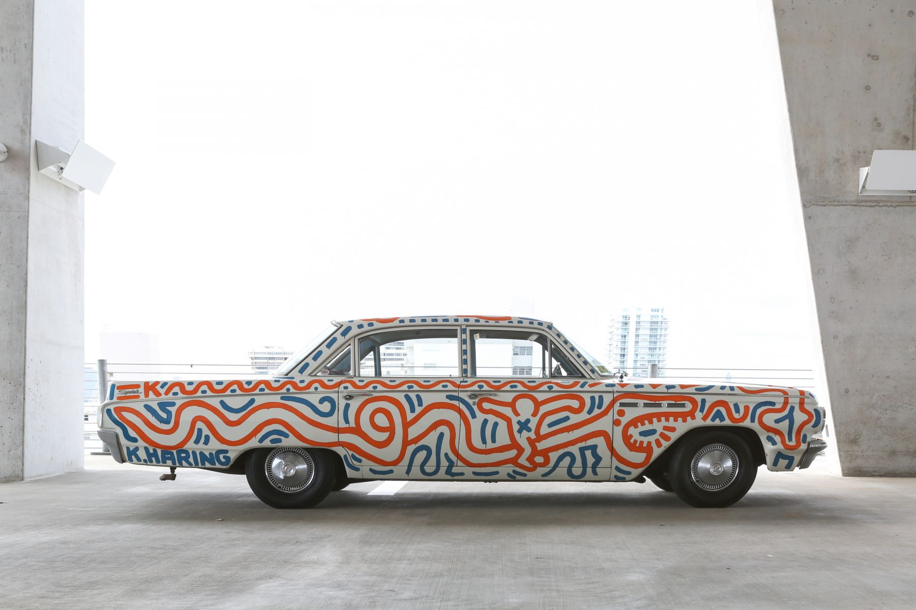 Keith Haring Untitled (Car)