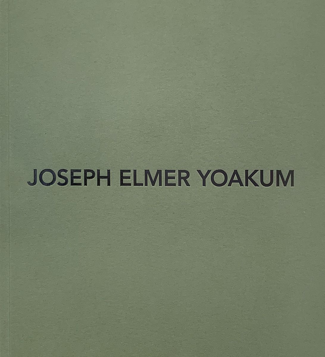 Joseph Elmer Yoakum Book Published by Venus Over Manhattan 2019