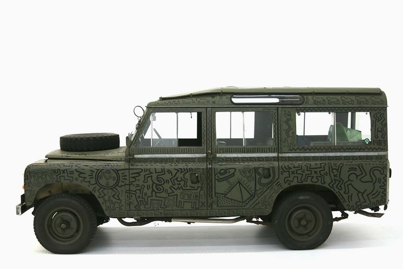 keith haring: untitled (range rover), 1983