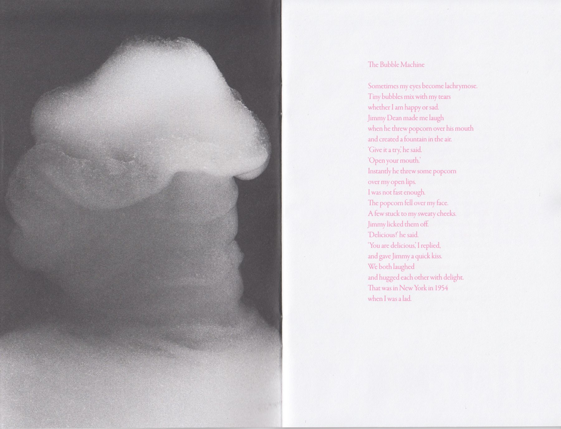 Interior image of David Medalla: Cloud Canyons, published by Venus Over Manhattan, 2014