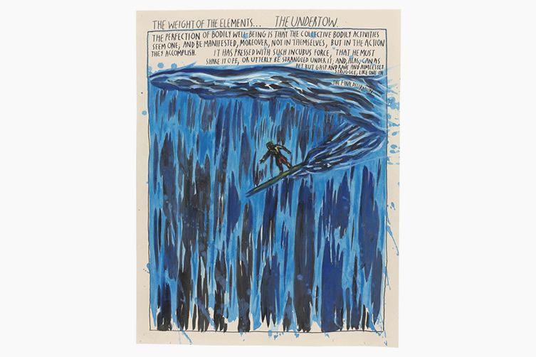 Raymond Pettibon Untitled (The Weight of the Elements...), 1994
