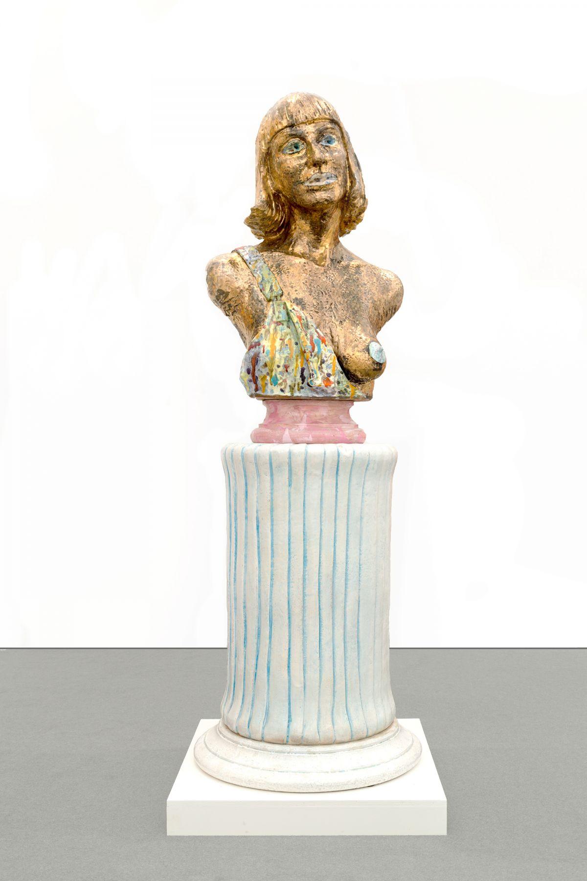 Robert Arneson Woman in Gold, 1983