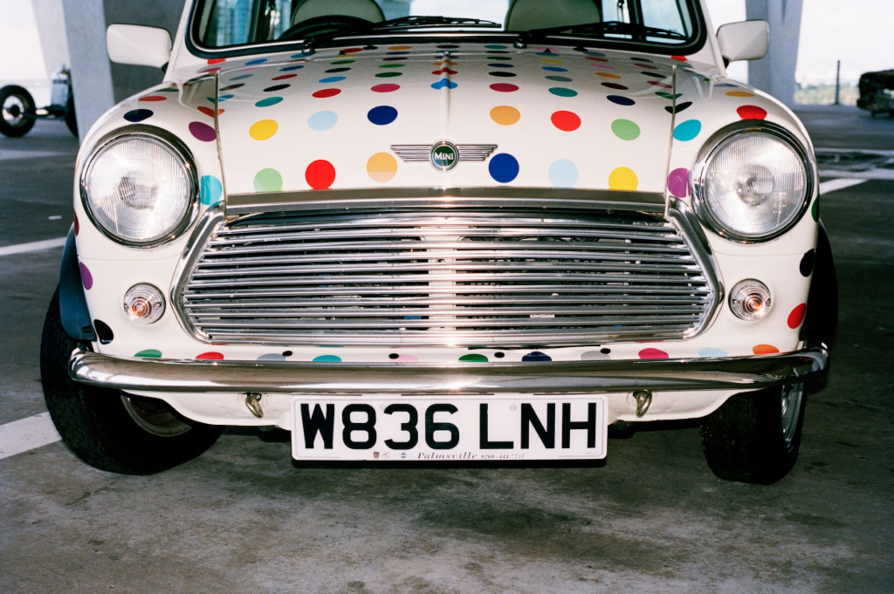 Piston Head Damien Hirst Untitled (Spot Mini)