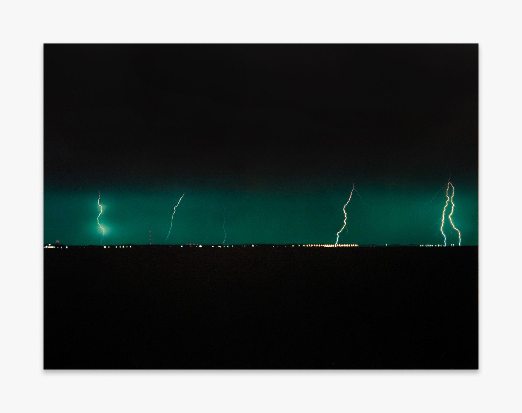 Jack Goldstein Untitled (Lightning), 1984