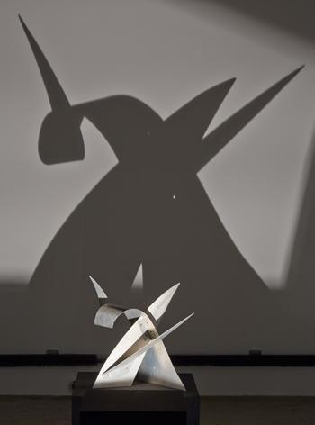 'Red Curlicue' [maquette], 1973