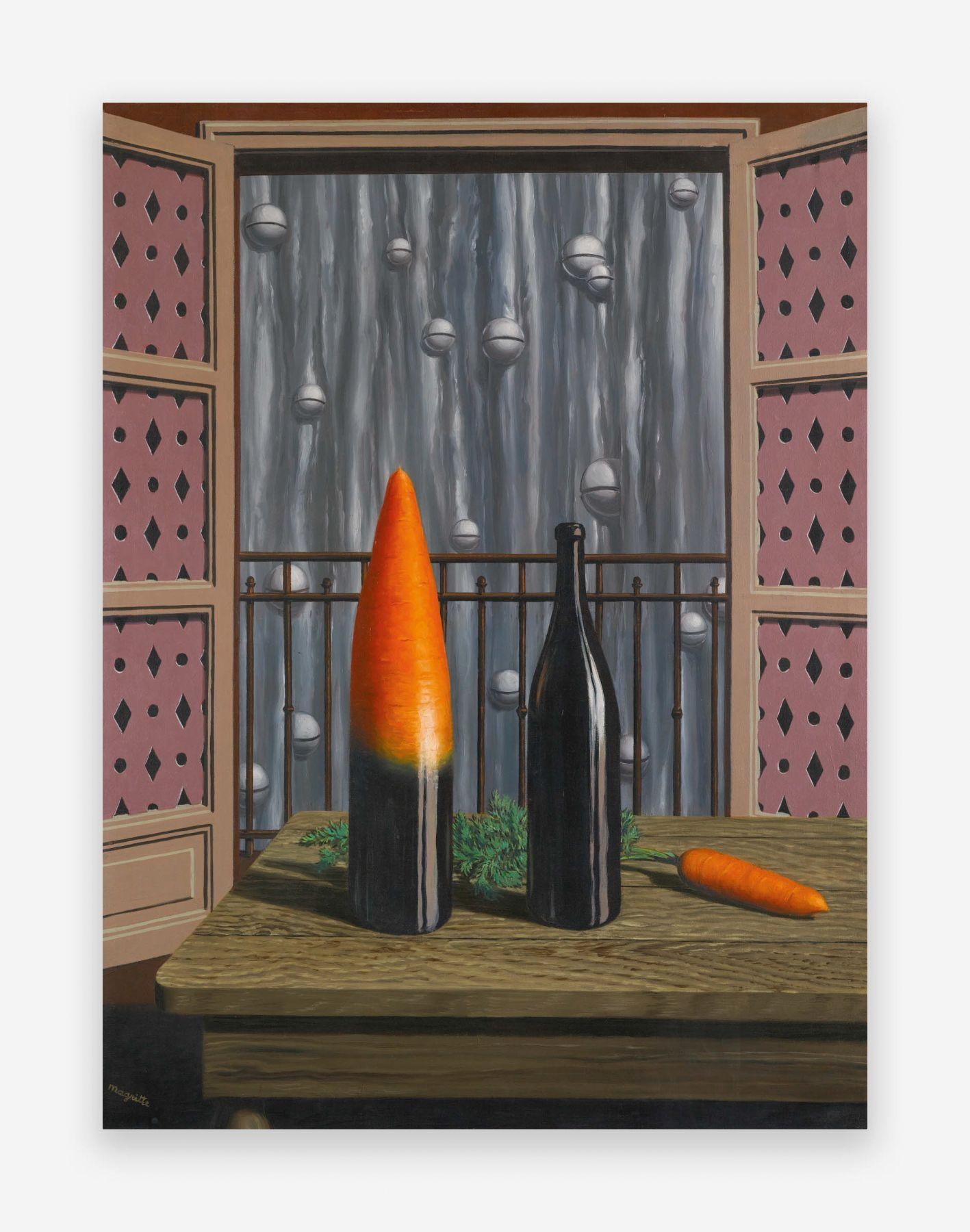 René Magritte L'explication, 1952