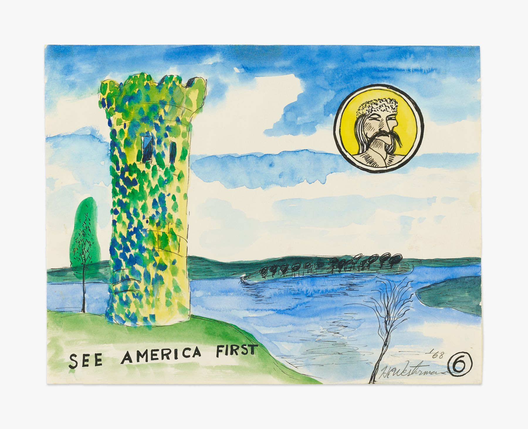 H.C. Westermann See America First, 1968