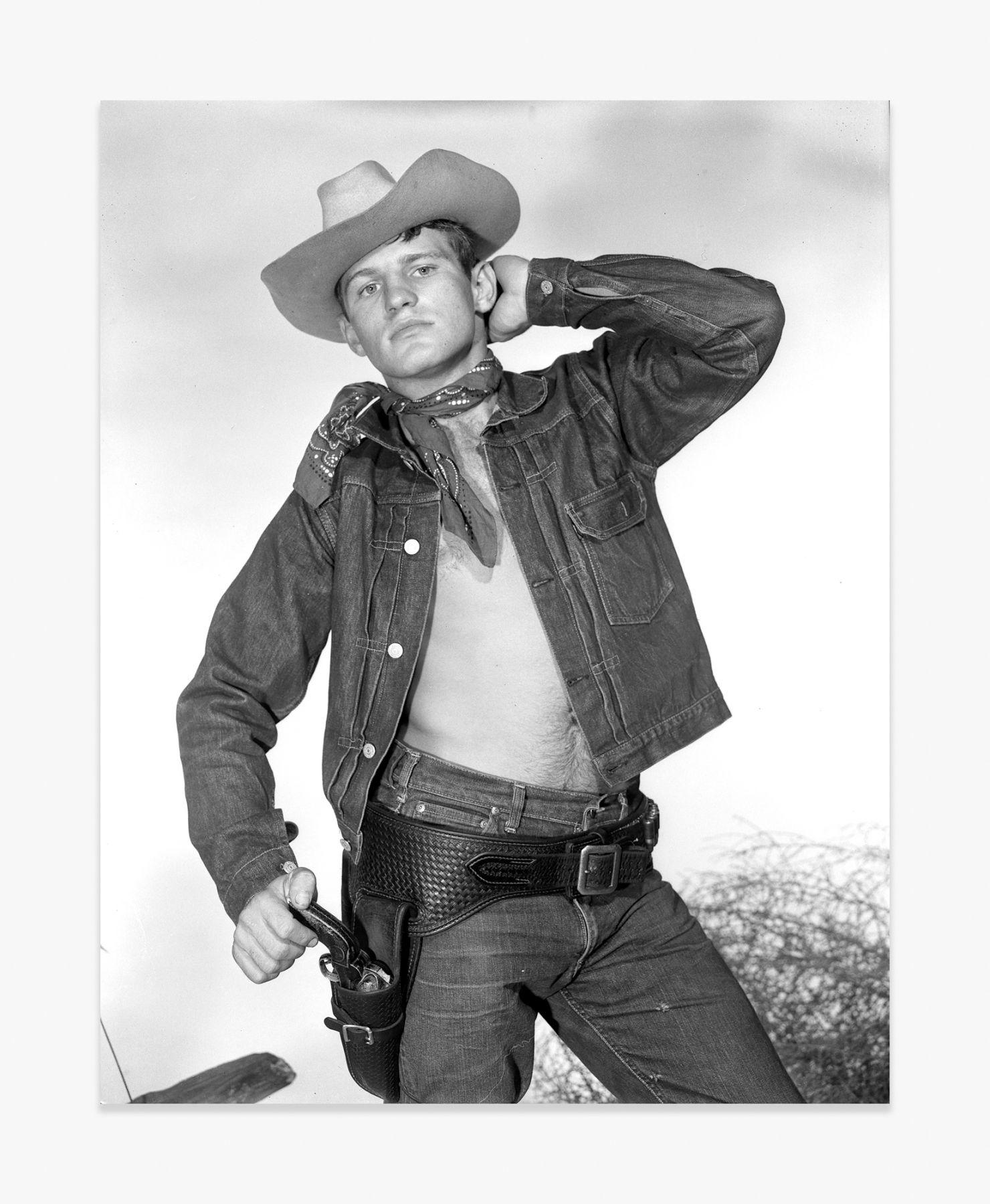 Bob Mizer Untitled (Larry Lamb, Catalog #UH1-G), Los Angeles, c. 1963