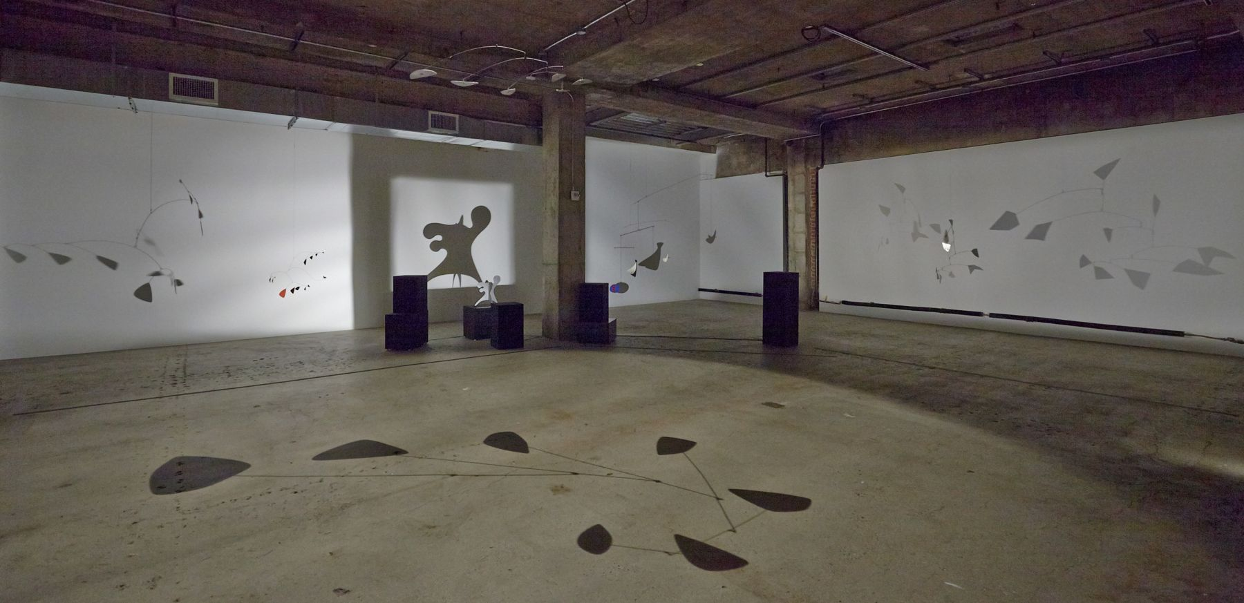 Calder Shadows Little Black Flower Ex-Octopus The New Ritou Untitled