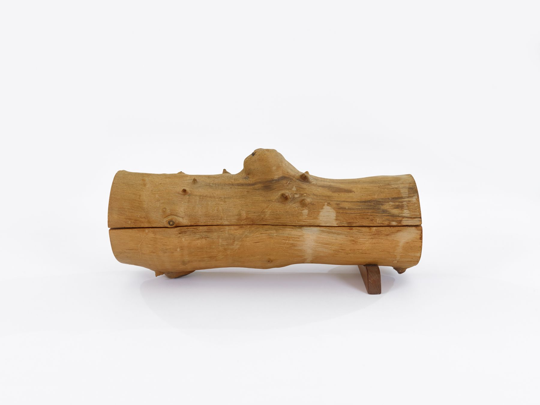 H.C. Westermann Walnut Log, 1969