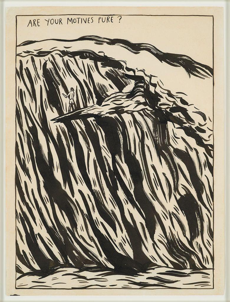 Raymond Pettibon,No Title (Are Your Motives),1987