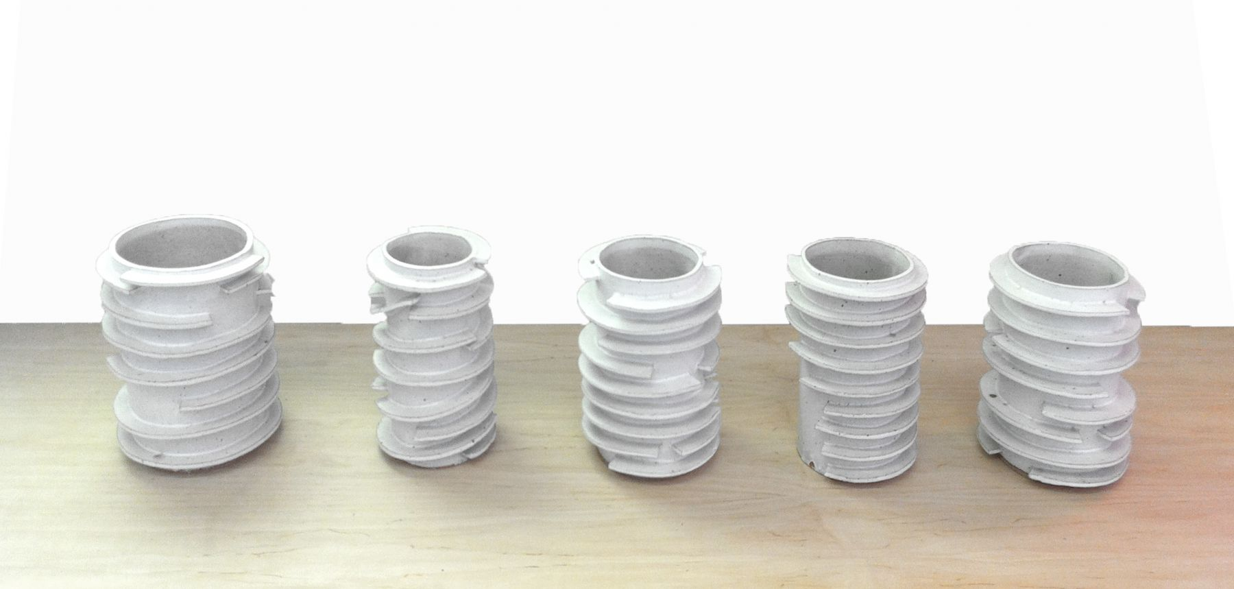David Korty Ringed Vases