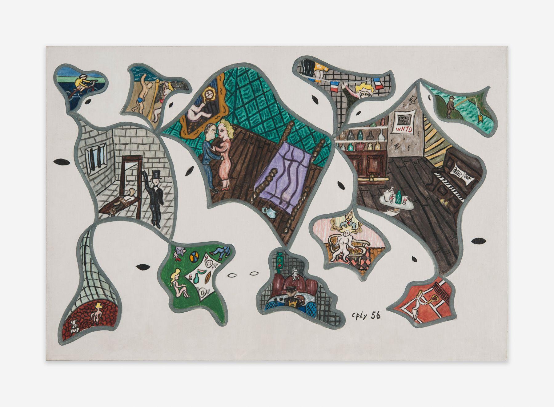 William Copley Untitled, 1956