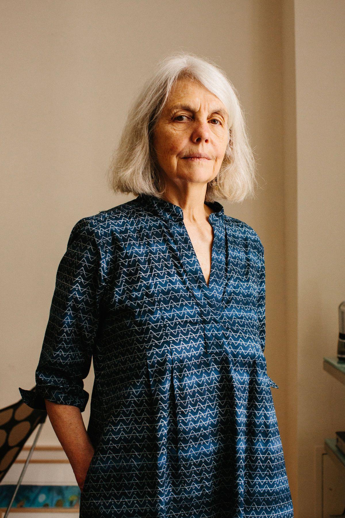 Portrait of Sally Saul by Stephanie Nortiz for Artsy.