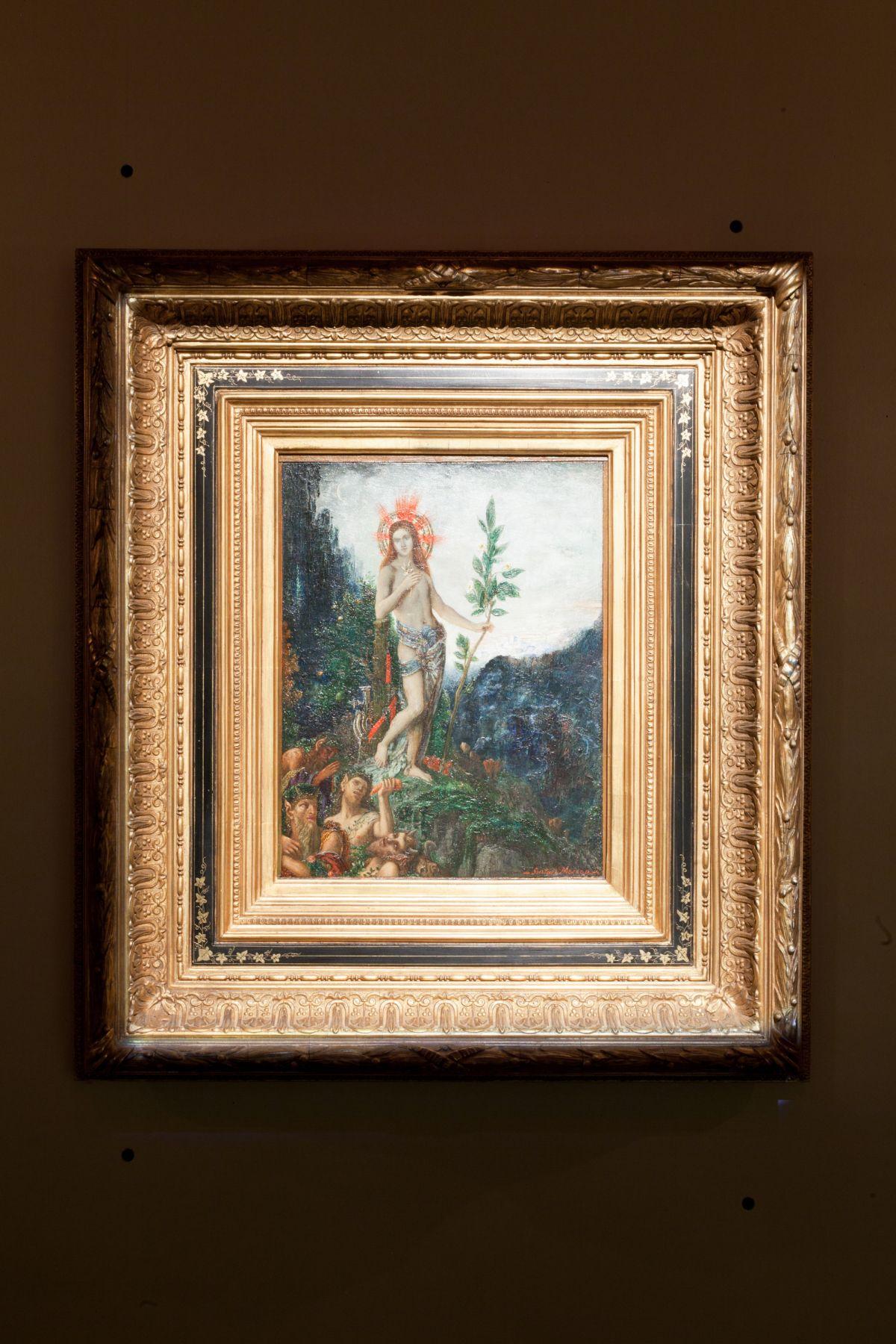 A Rebours Venus Over Manhattan Gustave Moreau