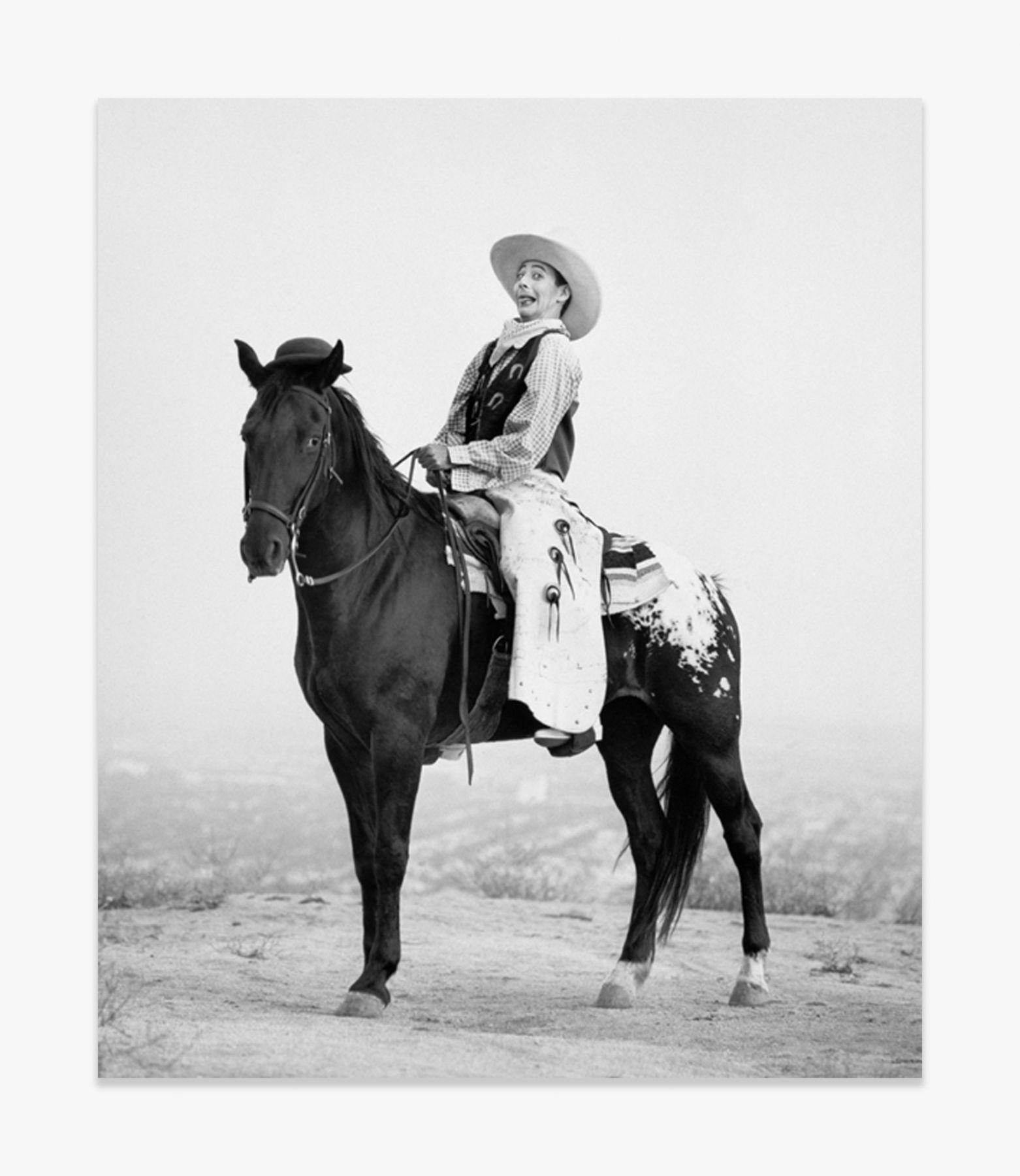 Herb Ritts Pee Wee on Horse, Los Angeles