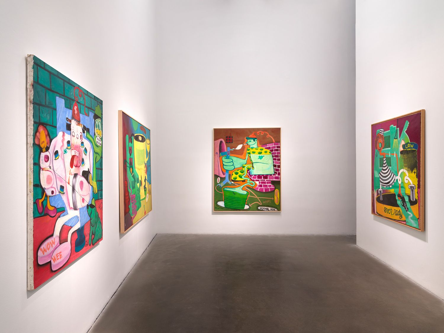 Peter Saul at the New Museum