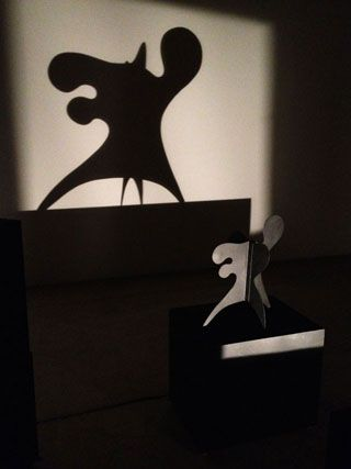 "Alexander Calder's ""Ex-Octopus"" and its shadow"