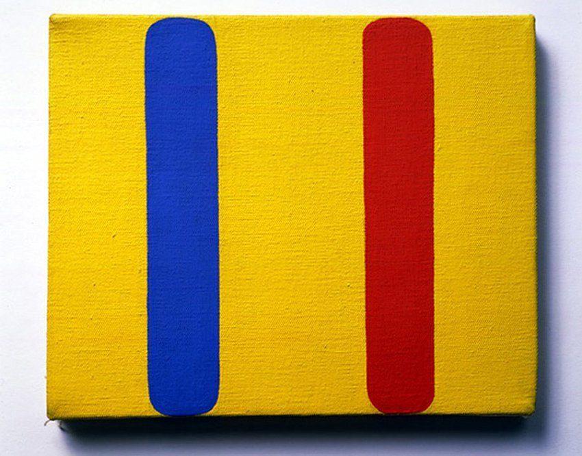 Ellsworth Kelly Red Blue Yellow