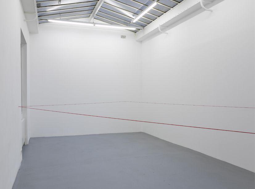 Fred Sandback– installation view 6