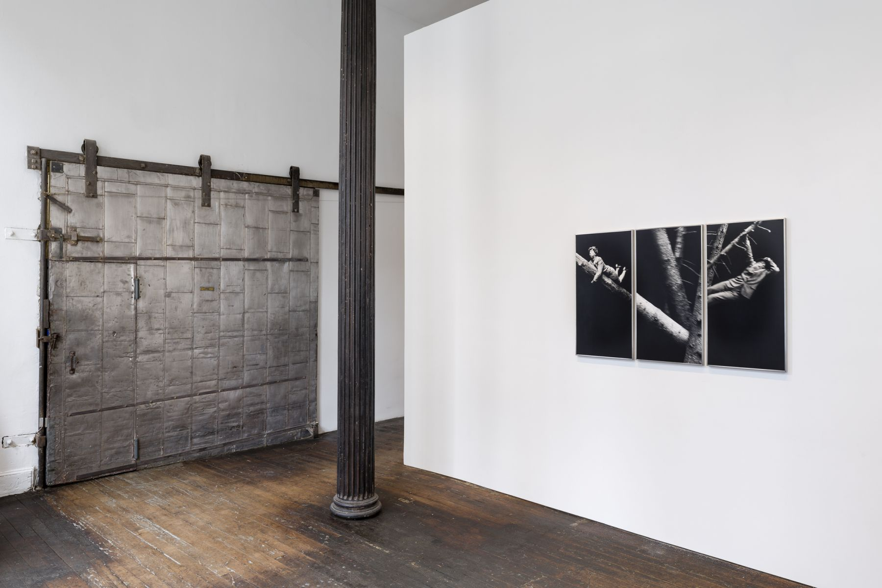 Anna and Bernhard Blume: Scenes from a Photo-Novel – installation view 1