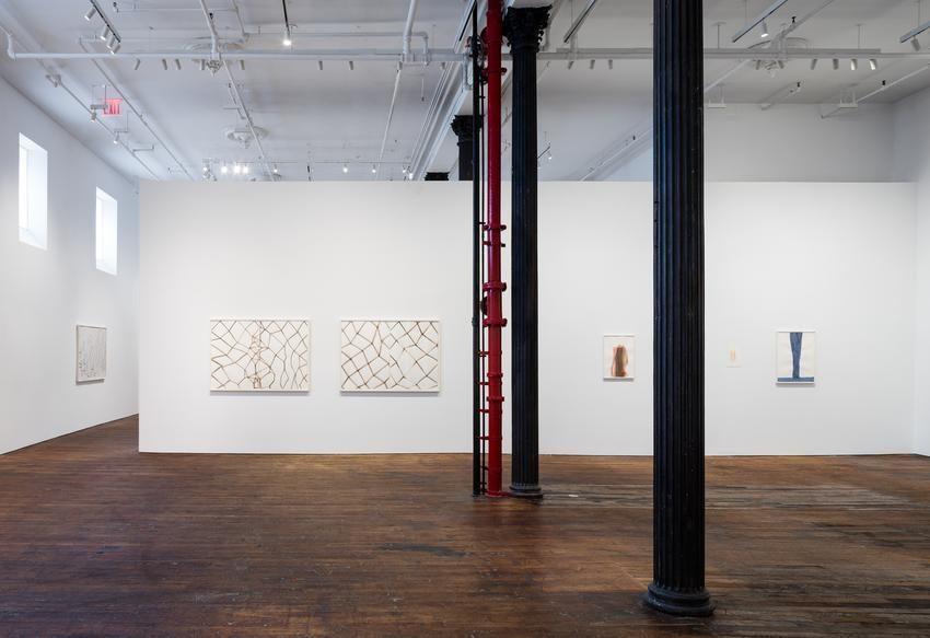 Silvia Bächli: further. evolves.– installation view 11