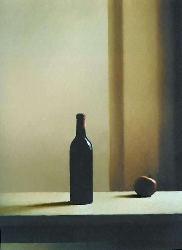 Gerhard Richter, Flasche mit Äpfeln [Bottle with Apple] (663-6)