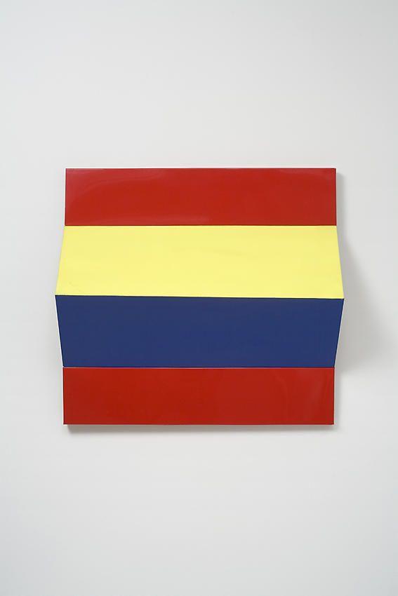 Charlotte Posenenske Faltung (Fold)[red, yellow, blue]