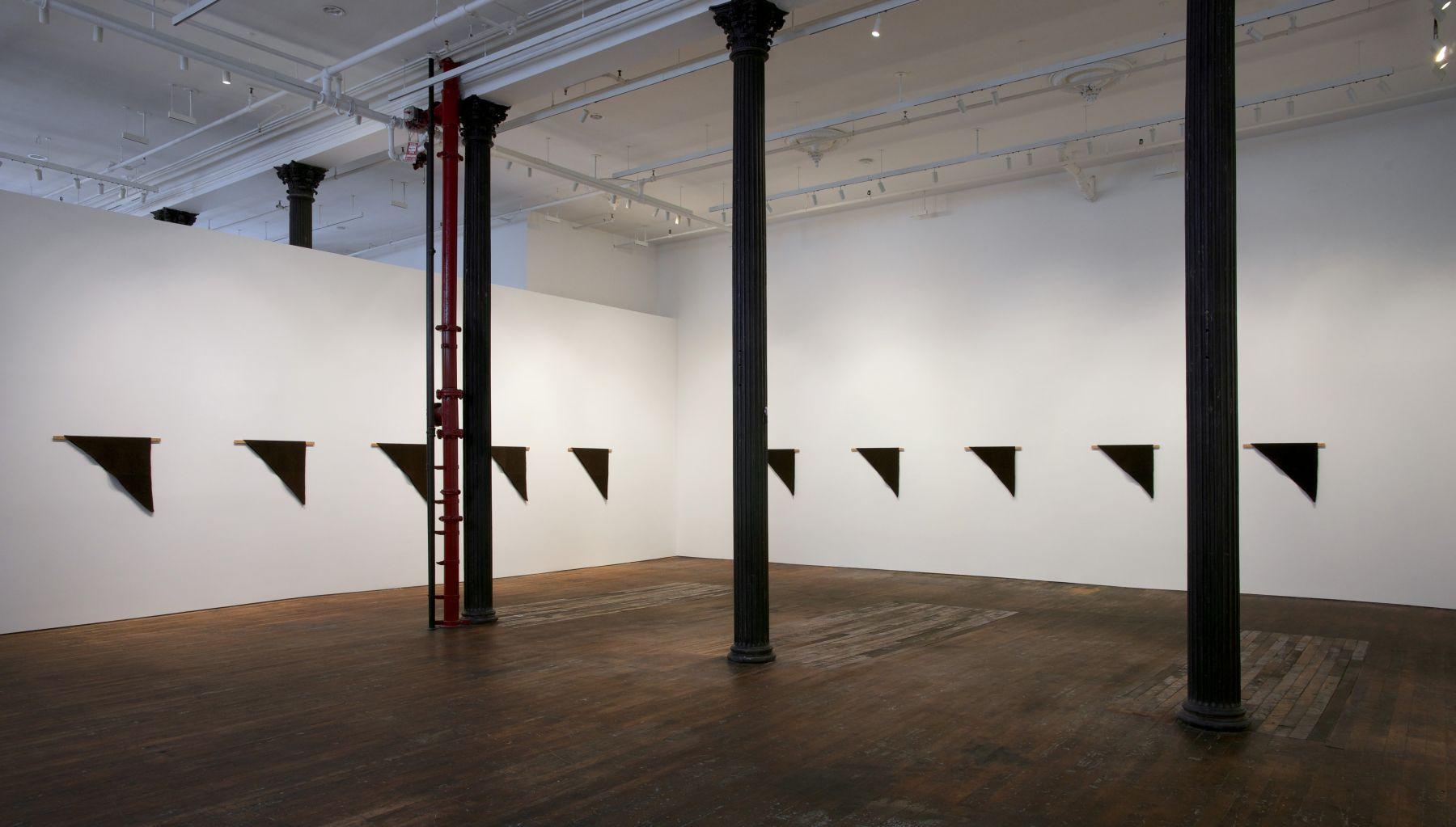 Helen Mirra: Waulked, – installation view 1