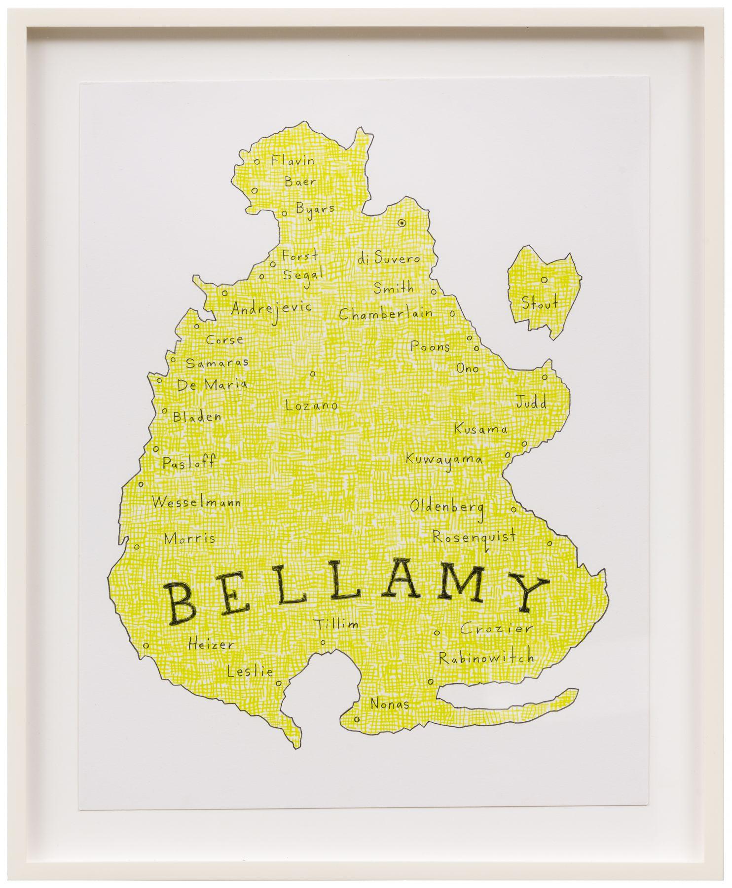 John Zinsser Art Dealer Archipelagoes: Bellamy II