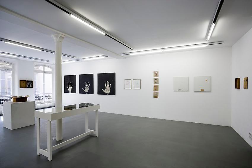 Robert Filliou:Je Meurs trop– installation view 13