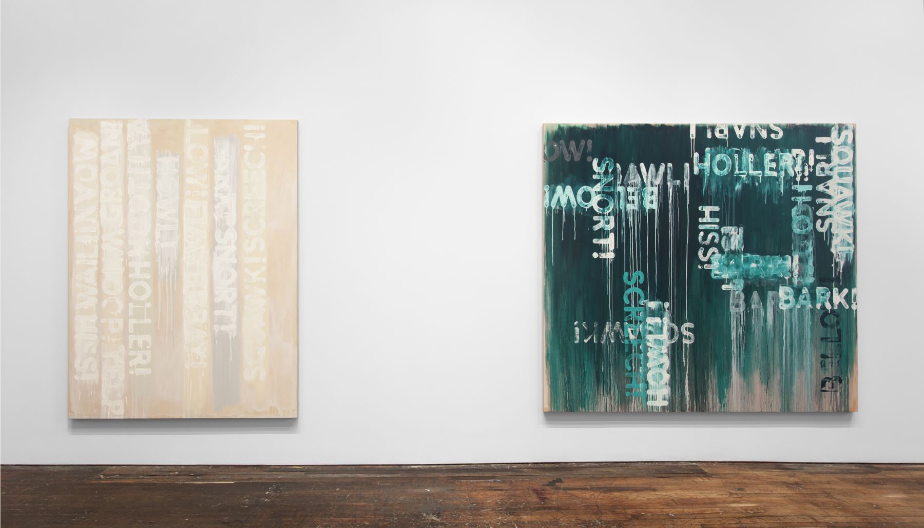 Mel Bochner: Voices – installation view 9