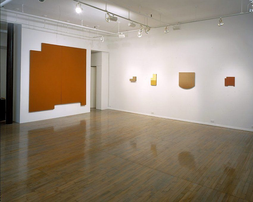 Wall, Window, Area: Robert Mangold, Early Paintings,1964-1965 – installation view 3
