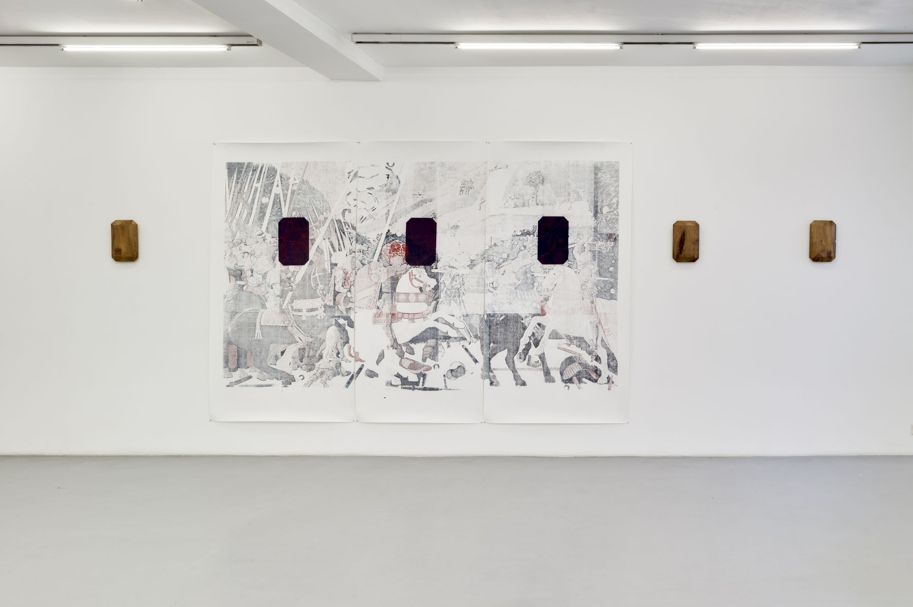 Lucy Skaer: Blanks and Ballast– installation view 3